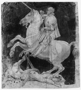 Study for the Equestrian Monument to Francesco Sforza by Antonio del Pollaiolo