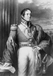 Portrait of Governor Brisbane