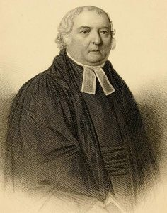 Portrait of Reverend Samuel Marsden