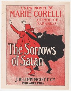 Poster for The Sorrows of Satan by Marie Corelli
