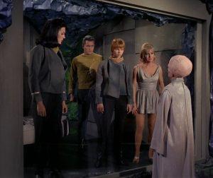 Scene from The Cage, the original Star Trek pilot.