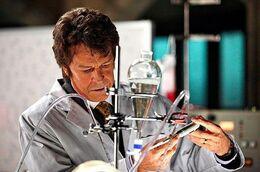 Walternate in his lab