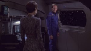 Captain Archer with Commander T'Pol