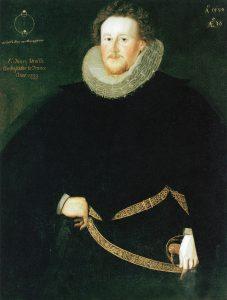 Portrait of Sir Henry Neville