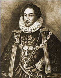 Etching of Roger Manners, Earl of Rutland